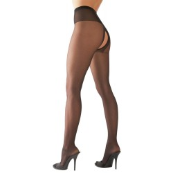 Crotchless Tights black 1