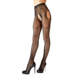 Crotchless Net Tights S-L