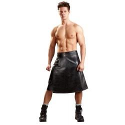 M. Imitation Leather Skirt S