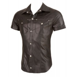 Imitation Leather M. Shirt M