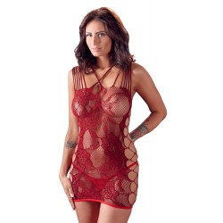 Net Dress red S-L