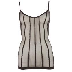 Mini Dress with Stripes S-L