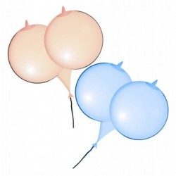 6 Boob Balloons